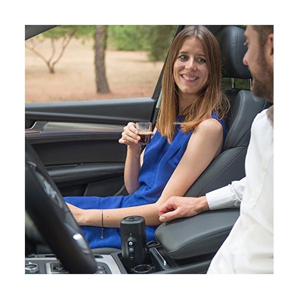 51Re6b9w9EL HANDPRESSO- Handpresso Auto Capsule 21020 NEUES MODELL Tragbare Espresso-Kaffeemaschine für das Auto, PKW und LKW 12V…