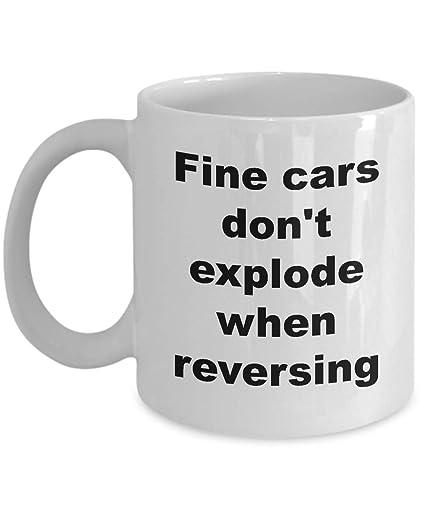Amazon Com Car Coffee Mug Funny Gifts For Women Men Salesmen Dad