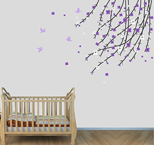 purple-tree-branch-wall-decals-purple-flower-tree-stickers