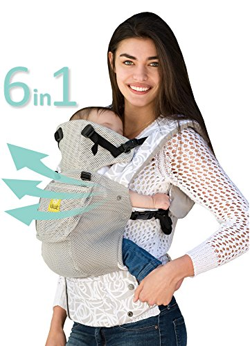 Six-Position, 360° Ergonomic Baby & Child Carrier by Lillebaby, Frosted Rose.