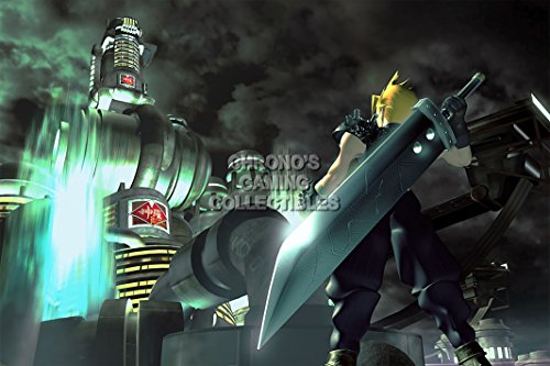 CGC Huge Poster - Final Fantasy VII Cloud vs Sephiroth Playstation PS1 PSP - FVII010 (24
