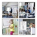 Mobile Whiteboard Magnetic Dry Erase Board Height