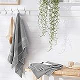 AmazonBasics Fade-Resistant Cotton Bath Towel