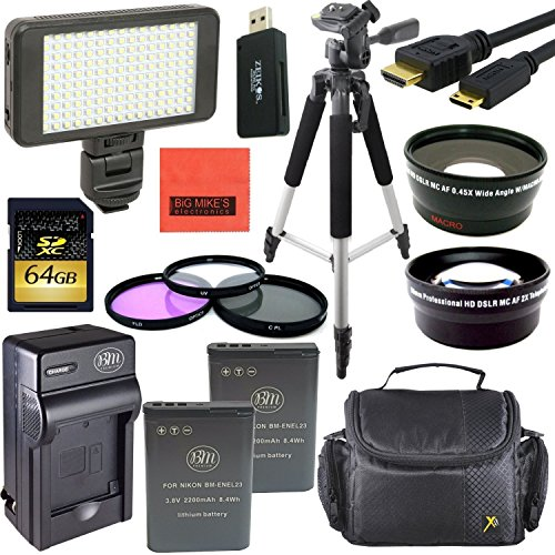 Pro Accessory Kit for Nikon Coolpix P900 Digital Camera - In