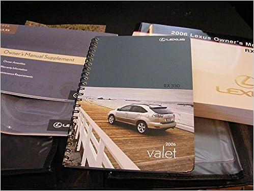 2006 rx330 manual