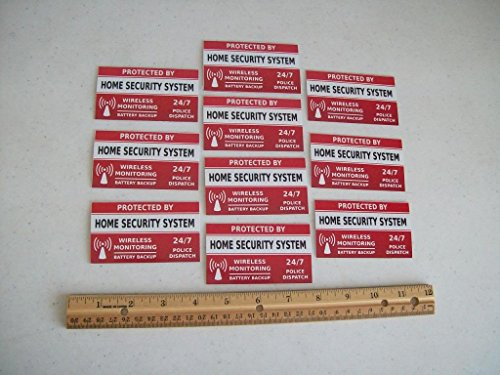 Security System Window Decals Stickers product image