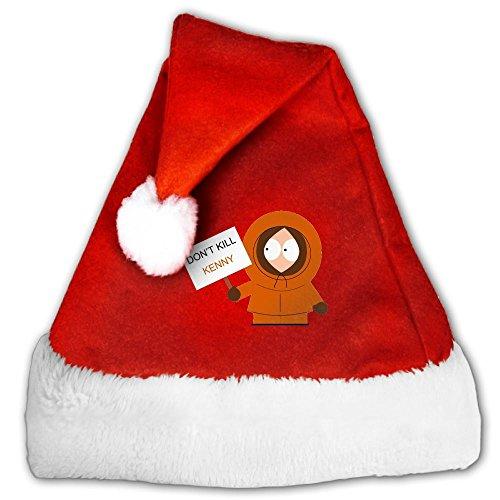 SUNRUN South Park Don Kill Kenny Women & Men & Boy & Girl Xmas Santa Red Hat - South Park Cartman Adult Costumes