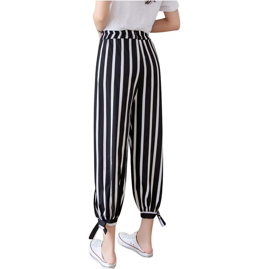 MrTom Mujer Pantalón de Linterna Pantalones Anchos Palazzo ...