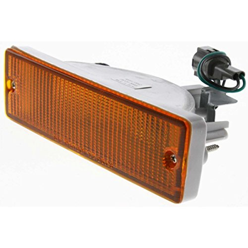 Diften 114-B2979-X01 - New Turn Signal Light Corner Side Marker Park Lamp Driver Left Hardbody Truck (New Turn Signal Park Lights)
