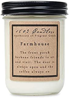 product image for 1803 Candles - Scented Soy Jar Candle - Farmhouse Scent