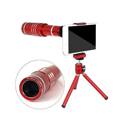 GXYAS - Telescopio monocular Ajustable con trípode para Smartphone ...