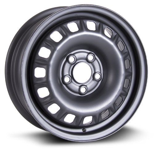 Steel Rim 14X5.5, 5X100, 57.1, +41, black finish (MULTI APPLICATION FITMENT) X99116N