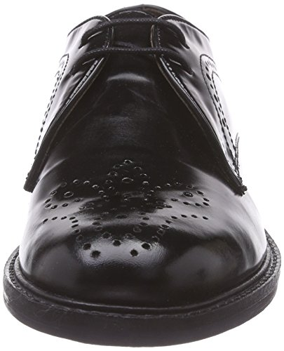 Hudson Magee Derby black London Donna Nero Stringate Scarpe Basse qqOr65x