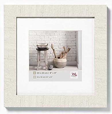 Walther Home Marco de Fotos, Madera, Blanco Polar, 20 x 20 cm