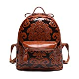 GUGGE Womens Girls Fashion Chinese Style Treasure Vintage Retro Backpack Travel Bags(C2)