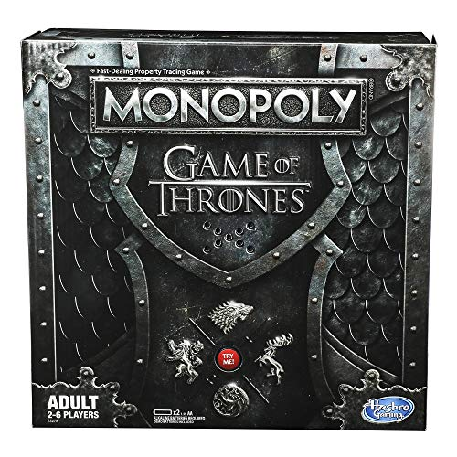 Monopoly Game of Thrones Board Game for Adults (Dog Monopoly Board Game)