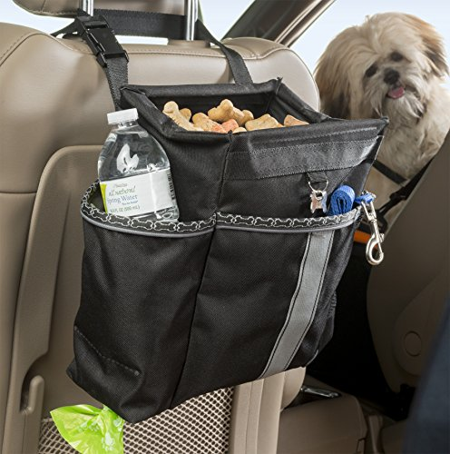 High Road Wag'nRide Dog Car Seat Organizer with Waste Bag Dispenser