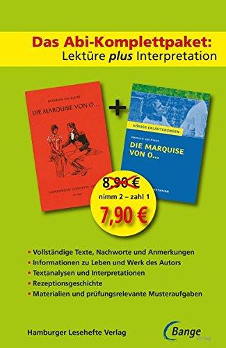 Die Marquise von O...: Das Abi-Komplettpaket. Lektüre plus Interpretation