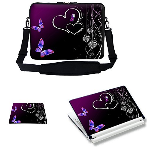 Meffort Inc 17 17.3 inch Neoprene Laptop Sleeve Bag Carry...