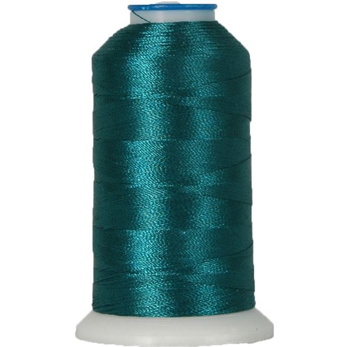 Rayon Embroidery Thread No. 324-1000M - DARK OCEAN TEAL