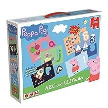 Peppa Pig ABC and 123 Educational Jigsaw Puzzles Box Set