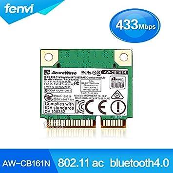 ARBUYSHOP Azurewave AW-CB161N inalámbrica Wi-Fi 802.11ac ...