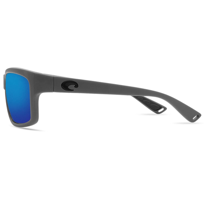 Costa Del Mar UT98OBMGLP Cut Blue Mirror 580G Matte Gray Frame Sunglasses Medium