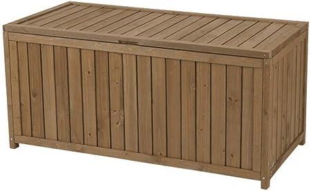 XLLLL Arcon Exterior Impermeable Caseta Depuradora Piscina Banco LeñEro Casetas Caja De Almacenamiento De Herramientas De Madera Grande Al Aire Libre/Contenedor De Jardín: Amazon.es: Hogar