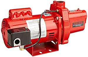 9. Red Lion RJS-100-PREM 602208 Premium Cast Iron Shallow Well Jet Pump for Wells up to 25 ft