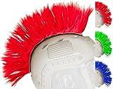 Evike Matrix Tacti-Cool Airsoft Helmet Crest Mohawk - Red - (50014)