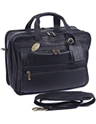 Claire Chase Guardian Computer Briefcase, Black, One Size