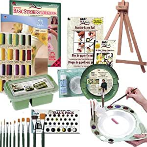 Donna Dewberry One Stroke Painting Beginner's Ultimate Deluxe Kit