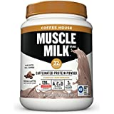 Muscle Milk Coffee House Caffeinated Protein Powder, Mocha Latte, 1.93 Pound