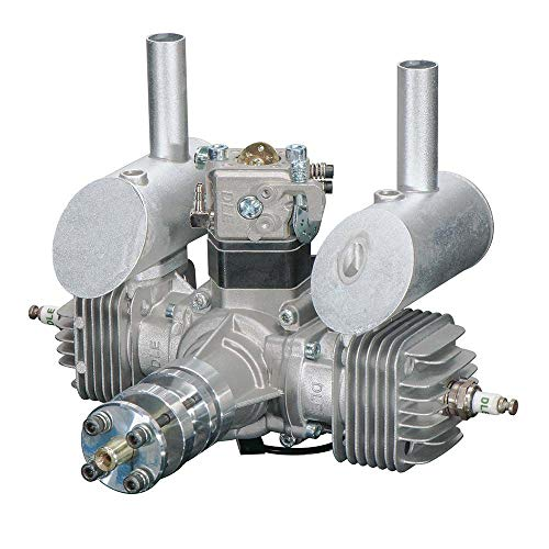 DLE DLE-40cc Horizontally Opposed Twin Cylinder Gasoline Radio Control  Airplane Engine with Electronic Ignition Module