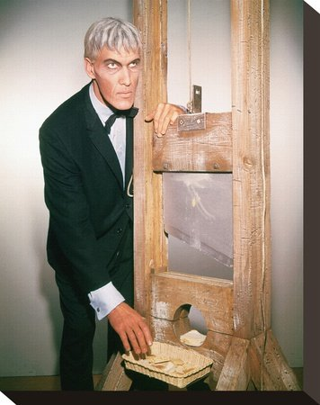 Ted Cassidy as Lurch Print on Canvas