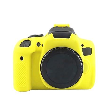 Funda protectora de silicona para cámara Canon EOS 750D DSLR ...