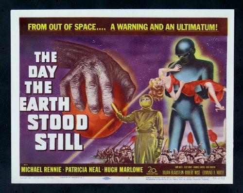 The Day The Earth Stood Still Lobby Card