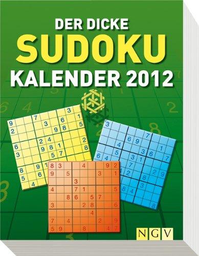 Der dicke Sudoku-Kalender 2012