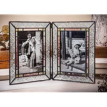 Amazon.com - J Devlin Pic 126-46-2 Stained Glass 4x6 Double Picture ...