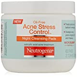 Neutrogena Acne Stress Control Night Cleansing Pads, 60 Count (Pack of 3) Review