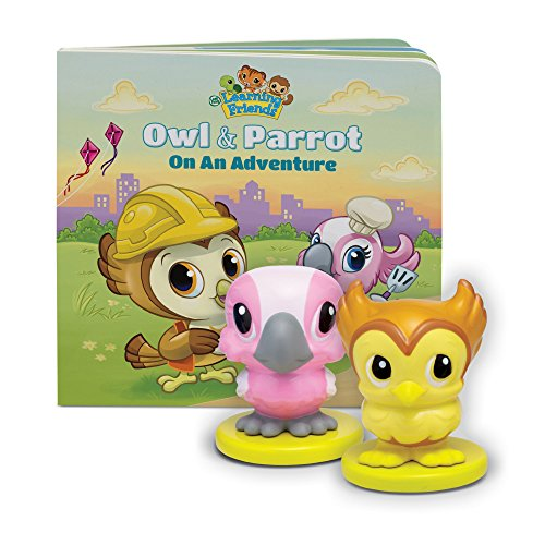 LeapFrog Learning Friends Owl and Parrot Figures with Board Book (Parrot Board)