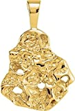 14kt Yellow Nugget Pendant