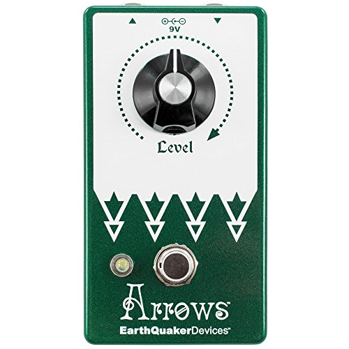 EarthQuaker Devices Arrows V2 Preamp Booster Guitar Effects Pedal