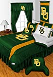 Baylor Bears 3 Piece TWIN Comforter SET - Includes: (1 Twin Comforter, 1 Pillow Sham & 1 Pillowcase) - SAVE BIG BY BUNDLING!