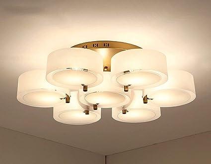 Cwj lampadario creativo personalità soggiorno illuminazione moderna