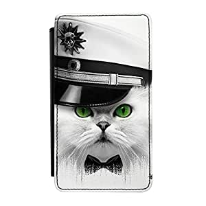 Captain Cat Premium Faux PU Leather Case Flip Case for Samsung? Galaxy Note 3 by Gangtoyz + FREE Crystal Clear Screen Protector