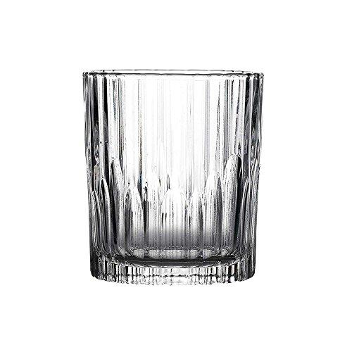 Duralex - Manhattan Clear Whisky Tumbler Glass 220 ml ( 7 3/4 oz.) Set of 6 ()