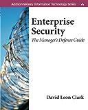 Enterprise Security 9780201719727