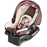 美国Graco 葛莱 舒尔提篮系列 安全提篮 婴儿提篮 新生儿专用 婴儿汽车安全座椅提篮 带底座支架 与推车搭配 红色 0-1岁 8AG96AHNN