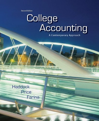 Download College Accounting: A Contemporary Approach Pdf